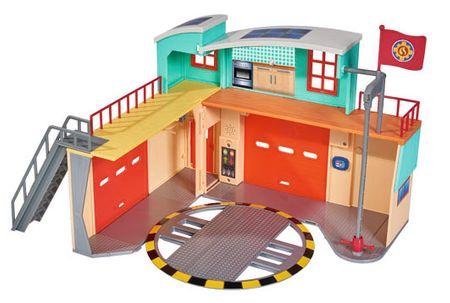 SIMBA Sam, a tűzoltó – Új tűzoltóállomás