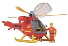 SIMBA Požiarnik Sam - Vrtuľník s figúrkou