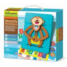 4M set za učenje matematike, opica