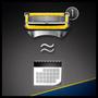 6 - Gillette Fusion ProShield Férfi borotva FlexBall technológiával + 4 db tartalék fej