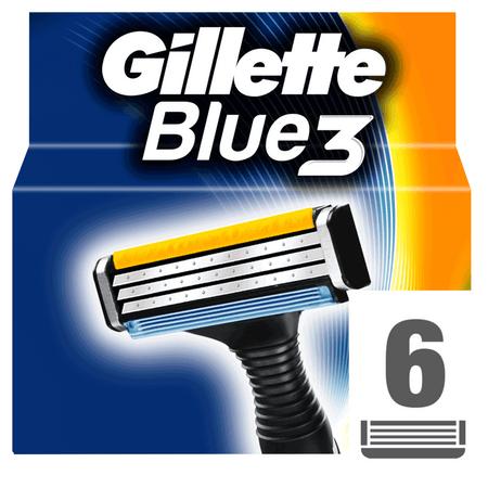 Gillette głowice wymienne Blue3 – 6 szt