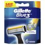 2 - Gillette głowice wymienne Blue3 – 6 szt