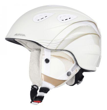 Alpina Sports Grap 2.0 White-Prosecco Matt 54-57