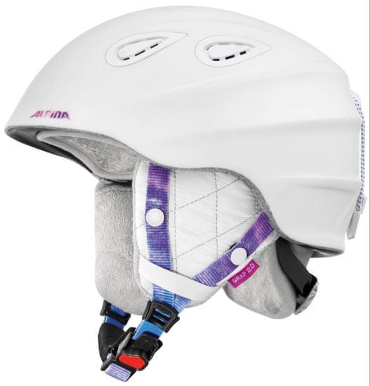 Alpina Sports Grap 2.0 LE White-Perwinkle Matt 54-57