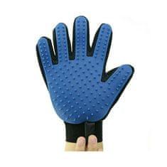 True Touch silikonska rokavica za česanje hišnih ljubljenčkov