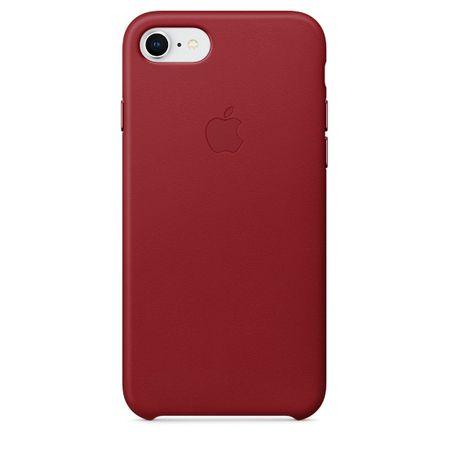 Apple Kožený kryt, Apple iPhone 8/7, MQHA2ZM/A, red