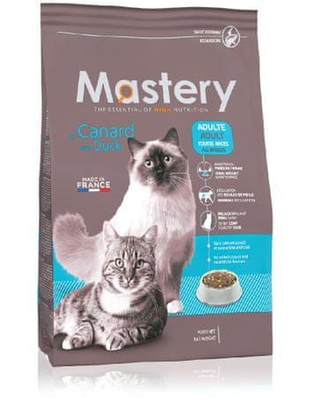 Mastery sucha karma dla kota z kaczką Adult with Duck 8 kg