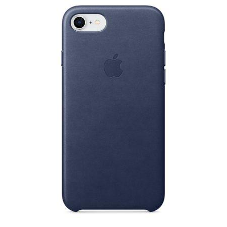 Apple bőr tok, Apple iPhone 7/8, MQH82ZM/A, Midnight Blue