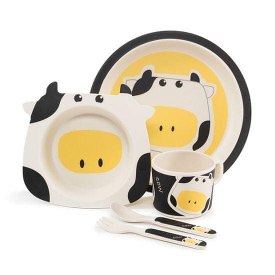 ZOPA Bambusová sada nádobí kravička