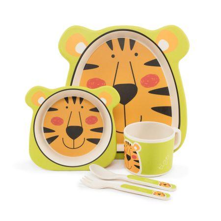 ZOPA Bambusová sada nádobí lev
