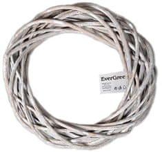 EverGreen Veniec prútený 30 cm, béžová