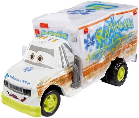 Mattel Cars 3 Velké auto Dr. Damage - rozbaleno