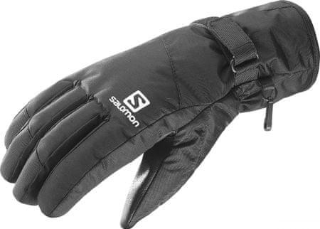 Salomon moške rokavice Force Dry, črne, M