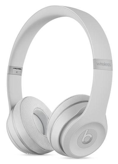 Beats Solo3 Wireless bezdrátová sluchátka matně stříbrná (MR3T2EE/A)