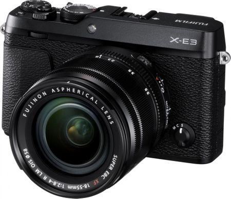 FujiFilm X-E3 + XF 18-55 czarny