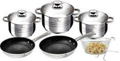 Blaumann Sada nádobí nerez 9 ks Gourmet Line