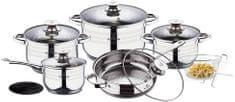 Blaumann Sada nádobí nerez 12 ks Gourmet Line