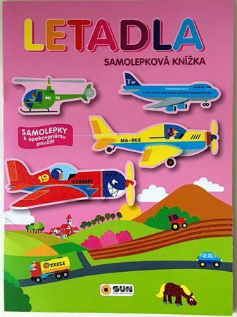 Letadla - samolepková knížka