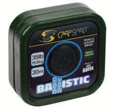 Carp Spirit Návazcová Šňůra Ballistic Camo Green 20 m