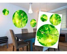 Dimex Dekoračné nálepky Zelený strom 85 x 125 cm