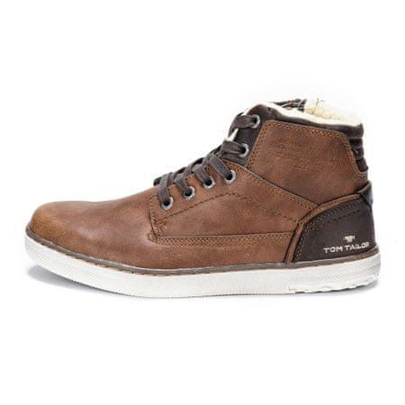 791dcce1fa Tom Tailor pánská kotníčková obuv 44 hnedá