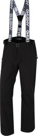 Husky muške skijaške hlače Galti, crne, XXL