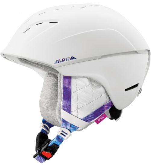 Alpina Sports Spice White-Periwinkle Matt 55-59