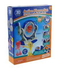 3D Magic Spinner csere forma - Akció hősök