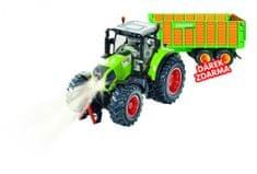 SIKU Control - limitovaná edícia traktor Claas Axion + silážne vozidlo Joskin 1:32