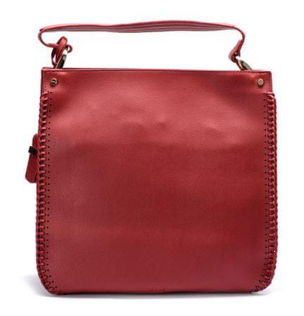 Nalí ženska torbica crvena