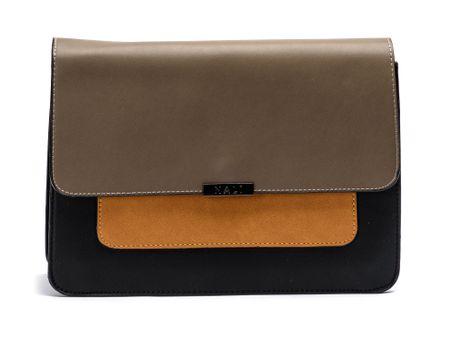 Nalí ženska ročna torbica rjava
