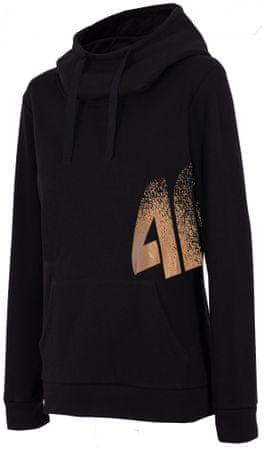 4F Damska bluza sportowa H4Z17 BLD005 L czarny