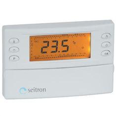 Seitron tedenski termostat, LCD zaslon - Odprta embalaža
