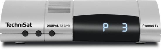 Technisat DIGIPAL T2 DVR, stříbrná - rozbaleno