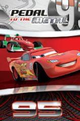 Jerry Fabrics Gyerek flísz takaró Cars 100 x 150 cm
