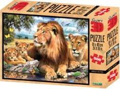 Lamps 3D Puzzle Lion 500 dielikov