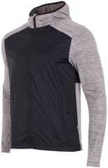 4F męska bluza H4Z17 BLMF002 jasny szary melanż