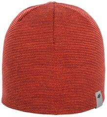 4F Męska czapka H4Z17 CAM002 pomarańcz