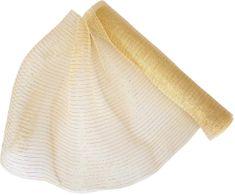 Seizis Dekoračná sieťka 54 x 914 cm, krémovo-zlatá