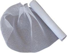 Seizis Dekoračná sieťka 54x914 cm, bielo-strieborná