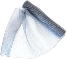 Seizis Dekoračná sieťka 54x914 cm, šedo-strieborná
