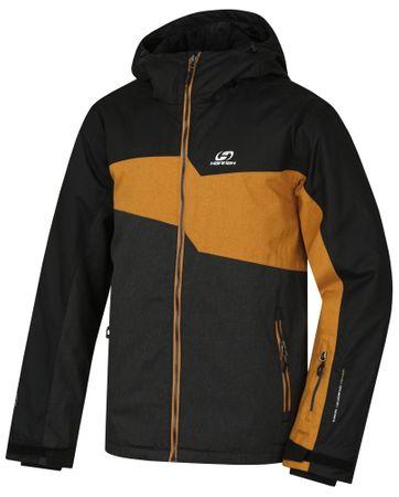 Hannah moška jakna Yole, črna/oranžna, M