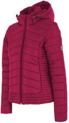4F damska kurtka H4Z17 KUD004 fiolet purpurowy