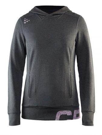 Craft ženski pulover Tag Hood, S, črn