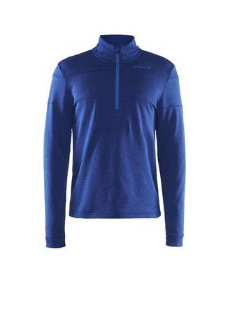 Craft moški pulover Spark Halfzip, S, moder