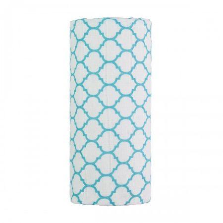 T-tomi Wielki materiałowy TETRA ręcznik niebieski