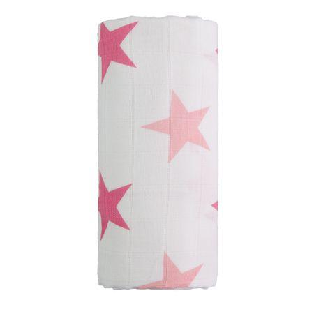 d84e94a8a5 T-tomi Veľká bavlnená TETRA osuška biela ružová