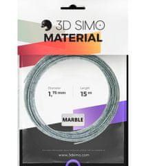 3Dsimo Filament MARBLE - arany 15m