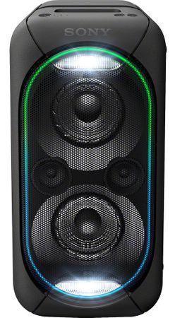 Sony domači glasbeni Bluetooth sistem GTK-XB60, črn