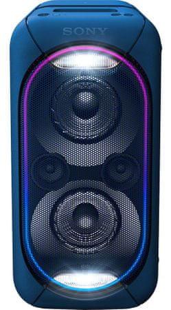 SONY GTK-XB60, niebieski
